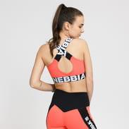 Nebbia Power Your Hero Sport Bra růžové / černé / bílé
