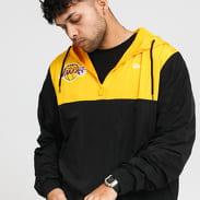New Era NBA Colour Block Windbreaker LA Lakers černá / žlutá
