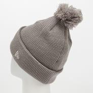 New Era WMNS Bobble Cuff Knit NY šedý