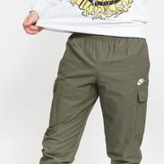 Nike M NSW CE Pant CF Woven Players olivové