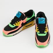 Nike W Air Max 90 Premium atomic pink / black - laser blue