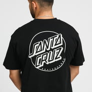 Santa Cruz Opus Dot Stripe Tee černé