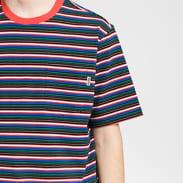 Stüssy Mini Stripe Crew červené / modré / černé / bílé