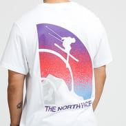 The North Face M Snow Maven Tee bílé