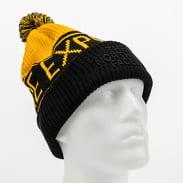 The North Face Retro Pom Beanie černý / žlutý
