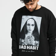 Urban Classics Bad Habit Crewneck černá