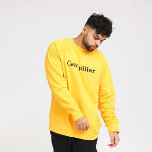 CATERPILLAR Basic Printed Logo Sweatshirt