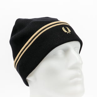 FRED PERRY Twin Tipped Merino Wool Beanie