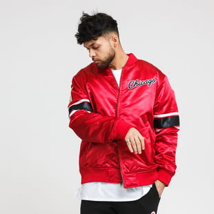 Mitchell & Ness Heavyweight Satin Jacket Chicago Bulls