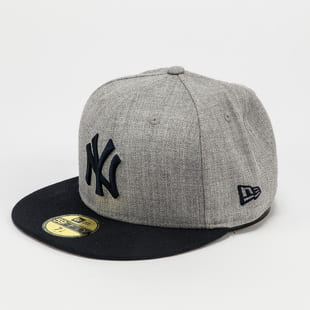 New Era 5950 MLB Heather Essential NY