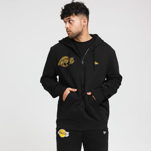 New Era NBA Chain Stitch Logo Hoody LA Lakers