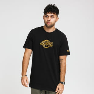 New Era NBA Chain Stitch Tee LA Lakers