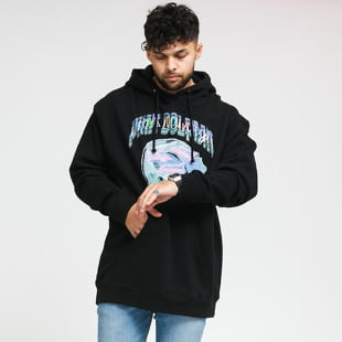 Pink Dolphin Sunset Craft Hoodie