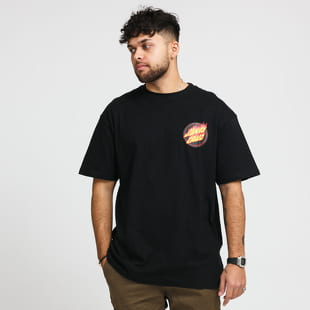 Santa Cruz Flaming Japanese Dot Tee