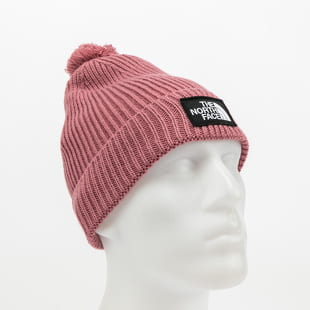 The North Face TNF Logo Box Pom Beanie