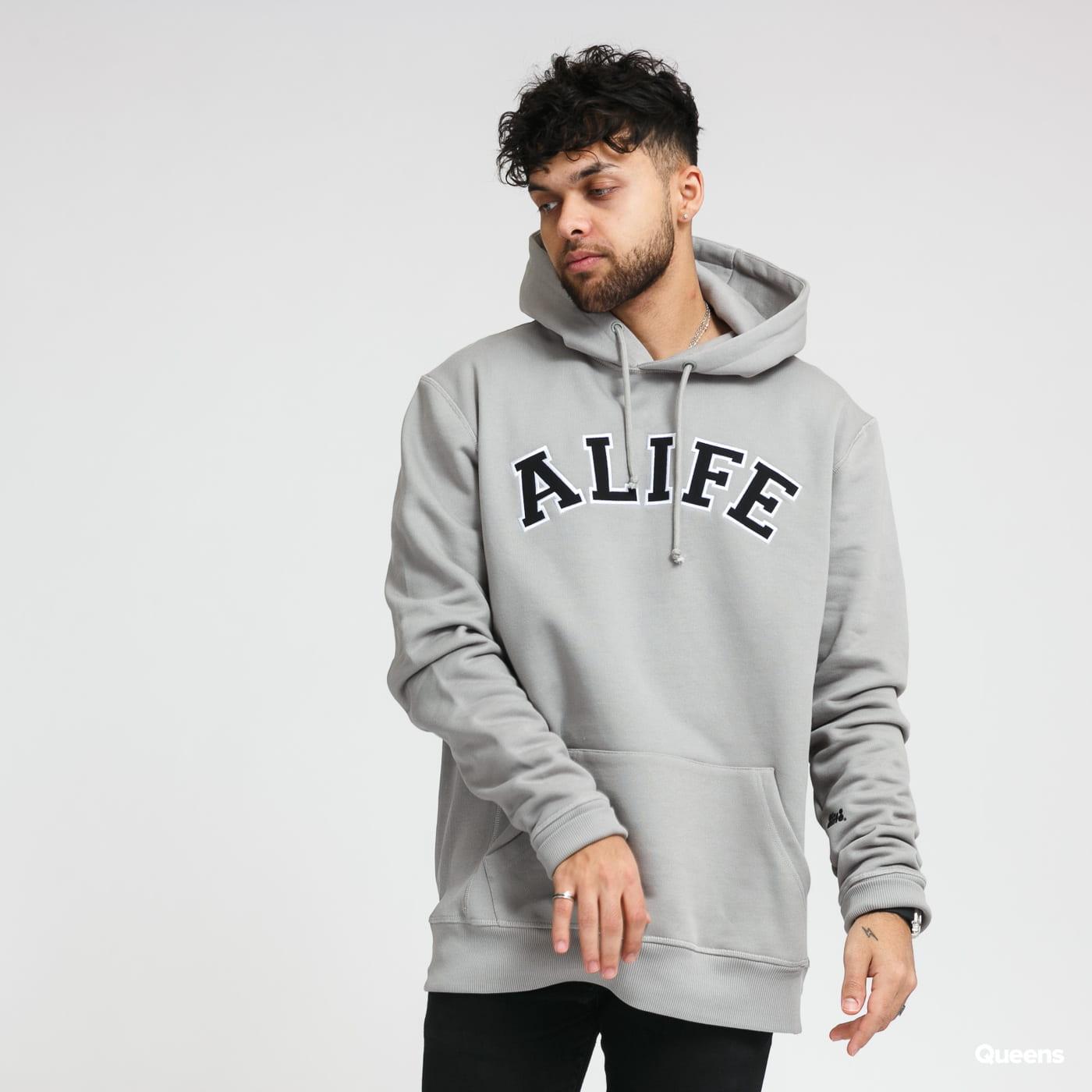 Alife Alife Collegiate Hoodie gray