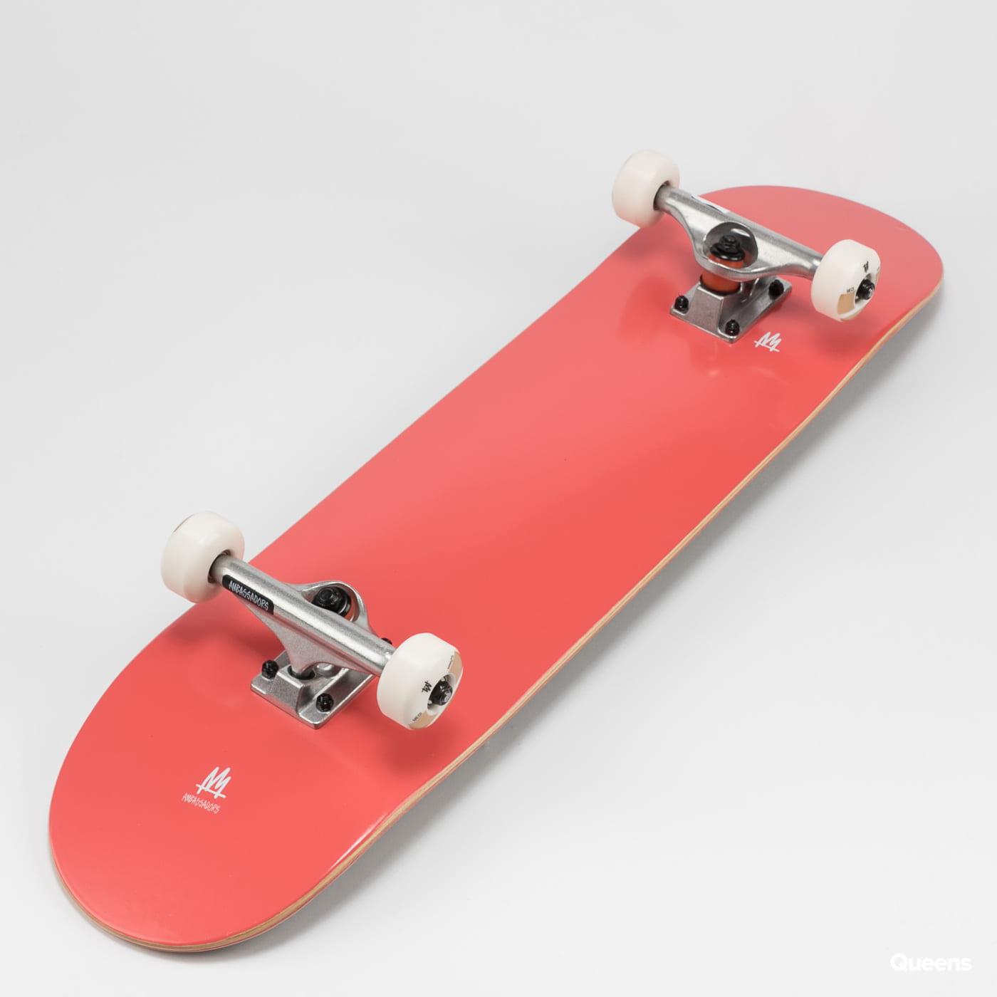 Ambassadors Komplet Skateboard Basic červený