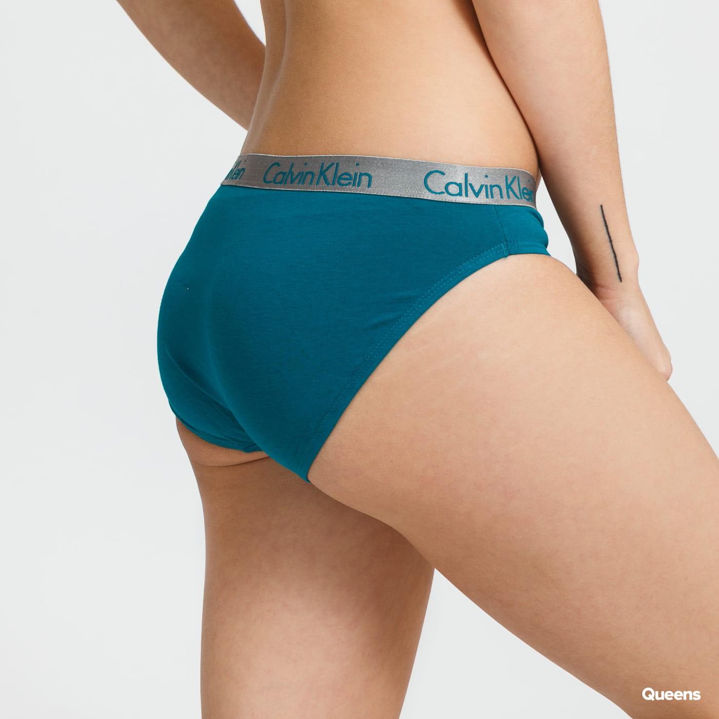 Calvin Klein Bikini - Slip 3 Pack tyrkysové / černé / růžové