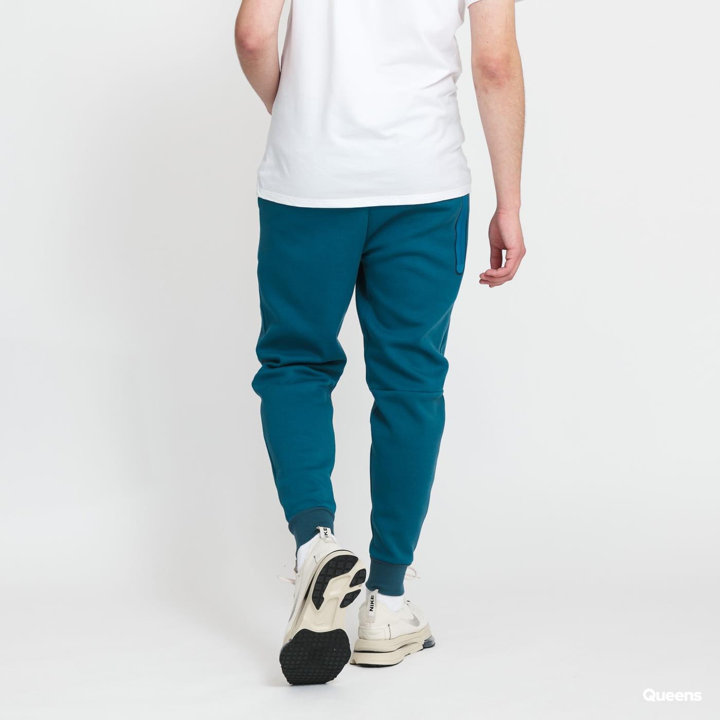 Nike M NSW Tech Fleece Jogger 2 Tone tmavě tyrkysové