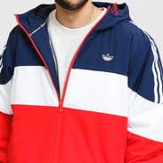 adidas Originals Spirit Padd Jacket červená / navy / bílá