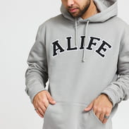 Alife Alife Collegiate Hoodie šedá