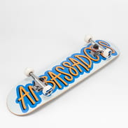 Ambassadors Komplet Skateboard Fresh bílý / modrý / oranžový