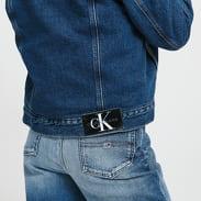 CALVIN KLEIN JEANS W Sherpa 90's Denim Jacket bb192 - icn mid blue