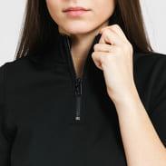 CALVIN KLEIN JEANS W Zip Monochrome Milano Dress černé