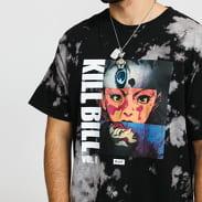 HUF Kill Bill Origin Tiedye Tee černé / šedé