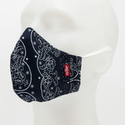 Levi's ® 1Pack Bandana Reusable Face Cover navy / bílá