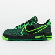 "Nike Air Force 1 React ""Naija"" QS black / green strike - pine green"