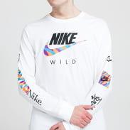 Nike M NSW Tee LS Wild Futura bílé