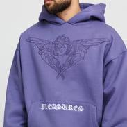 PLEASURES Angel Hoody fialová
