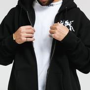 PLEASURES Bug Zip Up Hoody černá