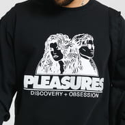 PLEASURES Discovery Heavy Weight Shirt černé