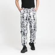 PLEASURES Moma Cargo Pant bílé / černé