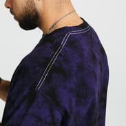 PLEASURES Natural Aroma Crystal Dye Shirt černé / fialové