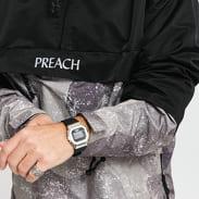PREACH Windbreaker černá / camo hnědá