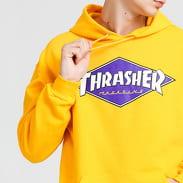 Thrasher Diamond Logo Hood žlutá