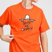 Thrasher Gonz SAD Logo Tee oranžové