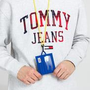 TOMMY JEANS College Tech CC Holder modrá / žlutá