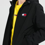 TOMMY JEANS M Padded Nylon Jacket černá