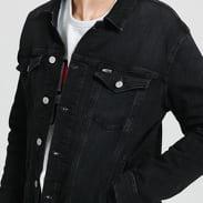 TOMMY JEANS M Regular Trucker Jacket max black str