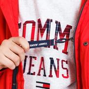 TOMMY JEANS M Tech Bomber červená