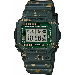 "Casio G-Shock DWE 5600CC-3ER ""Carbon Core Guard Circuit Board Camouflage Series"""