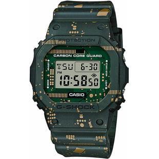 "Casio G-Shock DWE 5600CC-3ER ""Carbon Core Guard Circuit Board Camouflage Series"""