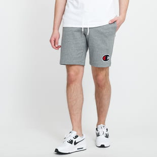 Champion C Logo Cotton Terry Bermuda Shorts