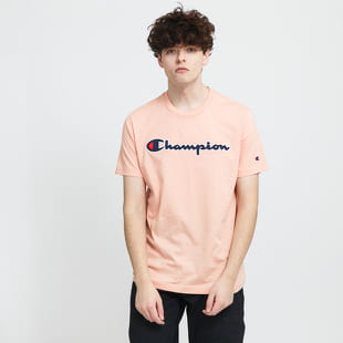 Champion Logo Crew Neck Tee