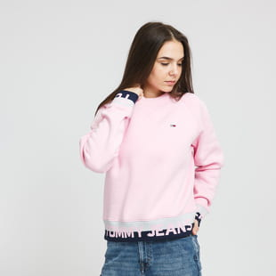 TOMMY JEANS W Branded Hem Sweat
