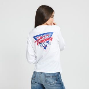 TOMMY JEANS W Triangle Back LS
